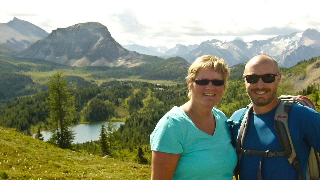 Hiking Sunshine Meadows, Banff, Canada