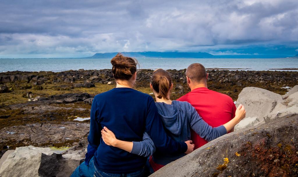 Enjoying Reykjavik's Views