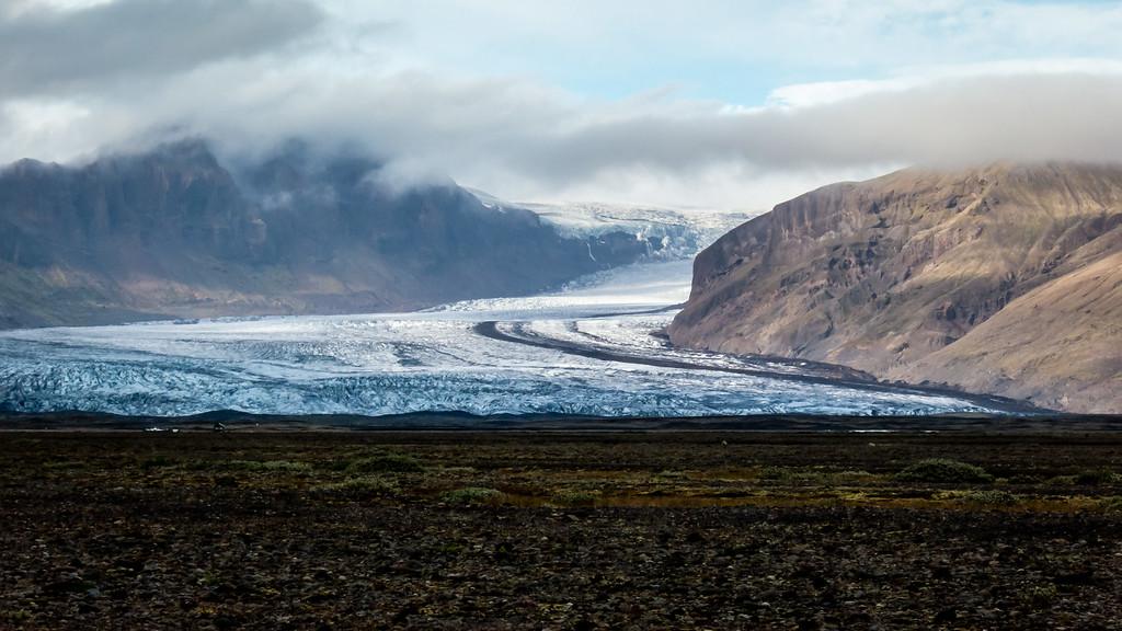 Southern Iceland Glacier