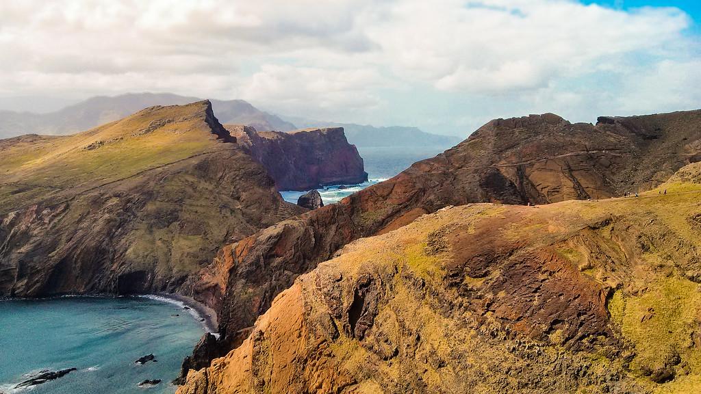 Hiking Punto do Furado in Madeira
