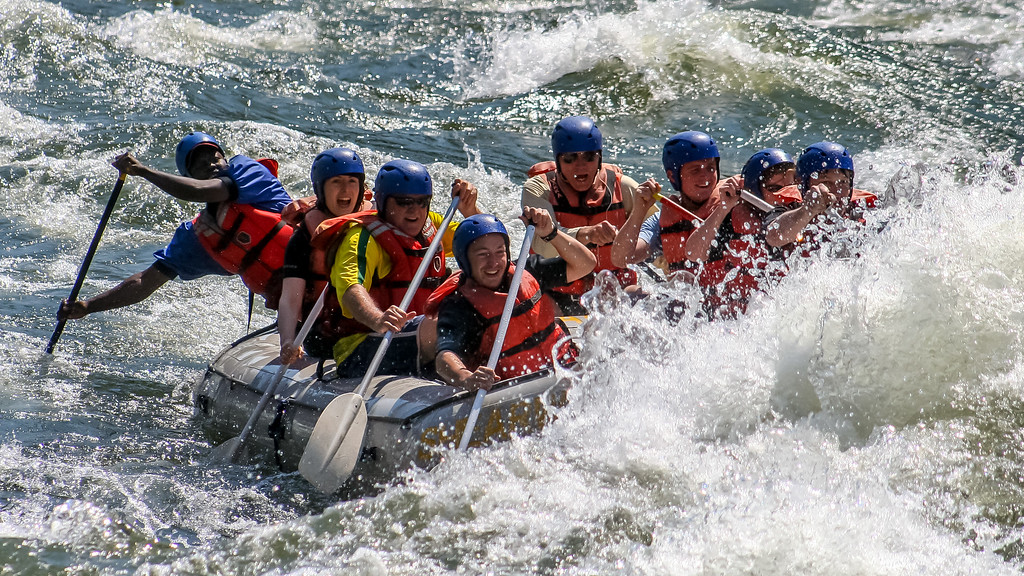 Vic Falls Whitewater Rafting